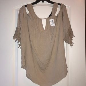 Charlotte Russe Top, NWT, 2X